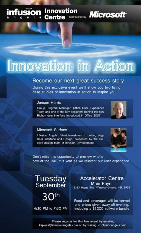 Innovation in Action Poster